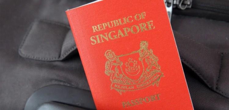 Pasaporte de Singapur