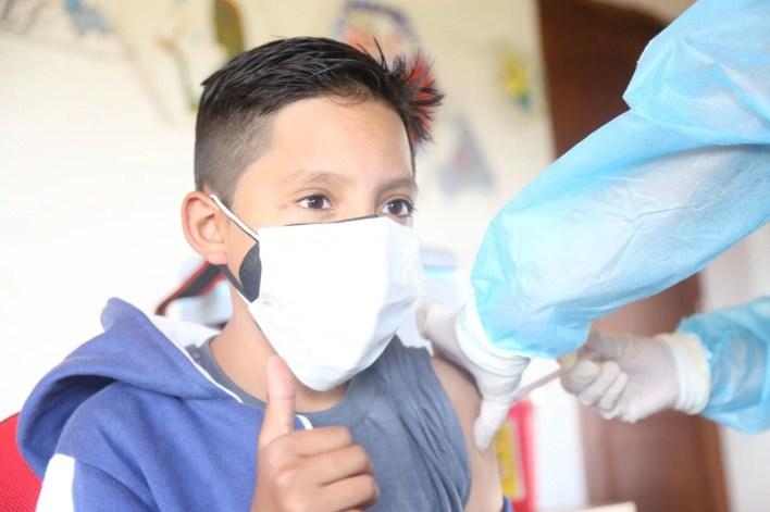 Desde el 21 de julio inició la vacunación contra el COVID-19 para niños y adolescentes. (Foto: Ministerio de Salud Pública de Ecuador).