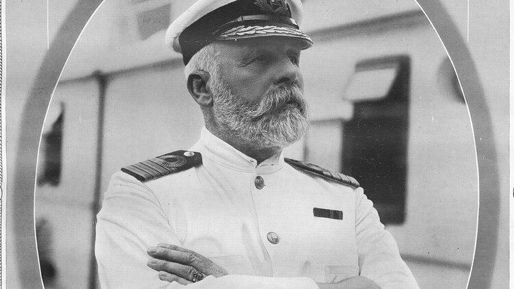 Edward J, Smith, capitán del Titanic