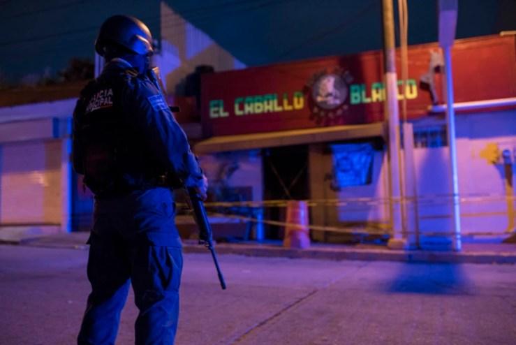 El ataque al centro nocturno El Caballo Blanco en Veracruz en el 2009 fue por un enfrentamiento entre Los Zetas y el Cártel Jalisco Nueva Generación (Foto: Cuartoscuro)