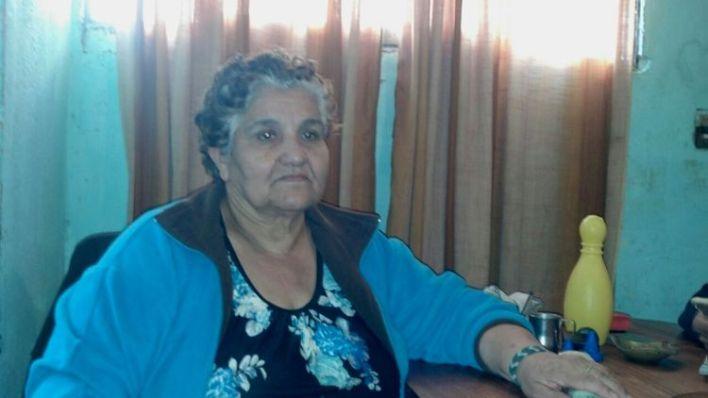 Marta Mesa, abuela de Katherine.