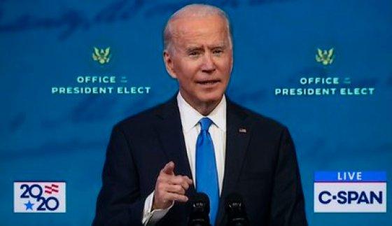 15/12/2020 El presidente electo of Estados Unidos Joe Biden.  POLITICA NORTEAMÉRICA ESTADOS UNIDOS INTERNACIONAL C-SPAN / ZUMA PRESS / CONTACTOPHOTO