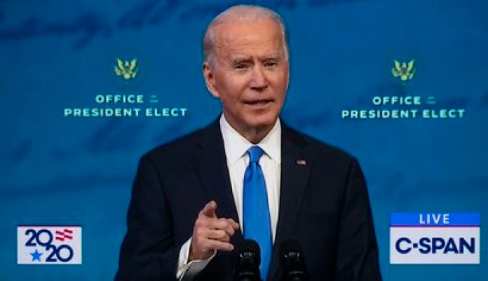 15/12/2020 El presidente electo de Estados Unidos Joe Biden. POLITICA NORTEAMÉRICA ESTADOS UNIDOS INTERNACIONAL C-SPAN / ZUMA PRESS / CONTACTOPHOTO