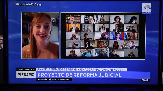 sesion comision senado reforma judicial 19-08