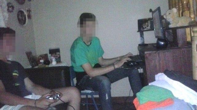 Dos adolescentes en casa del sospechoso. La víctimas podrían ser más de dos.