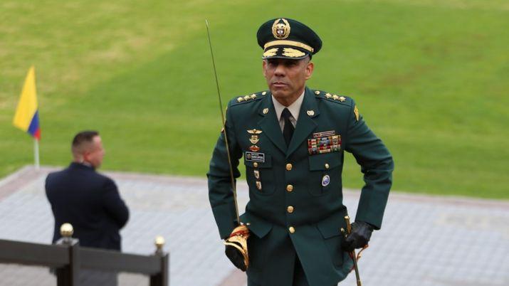30 de diciembre de 2019. Reconocimiento de Tropa y Posesión del Nuevo Comandante del Ejército, General Eduardo Zapateiro. (Colprensa - Álvaro Tavera).