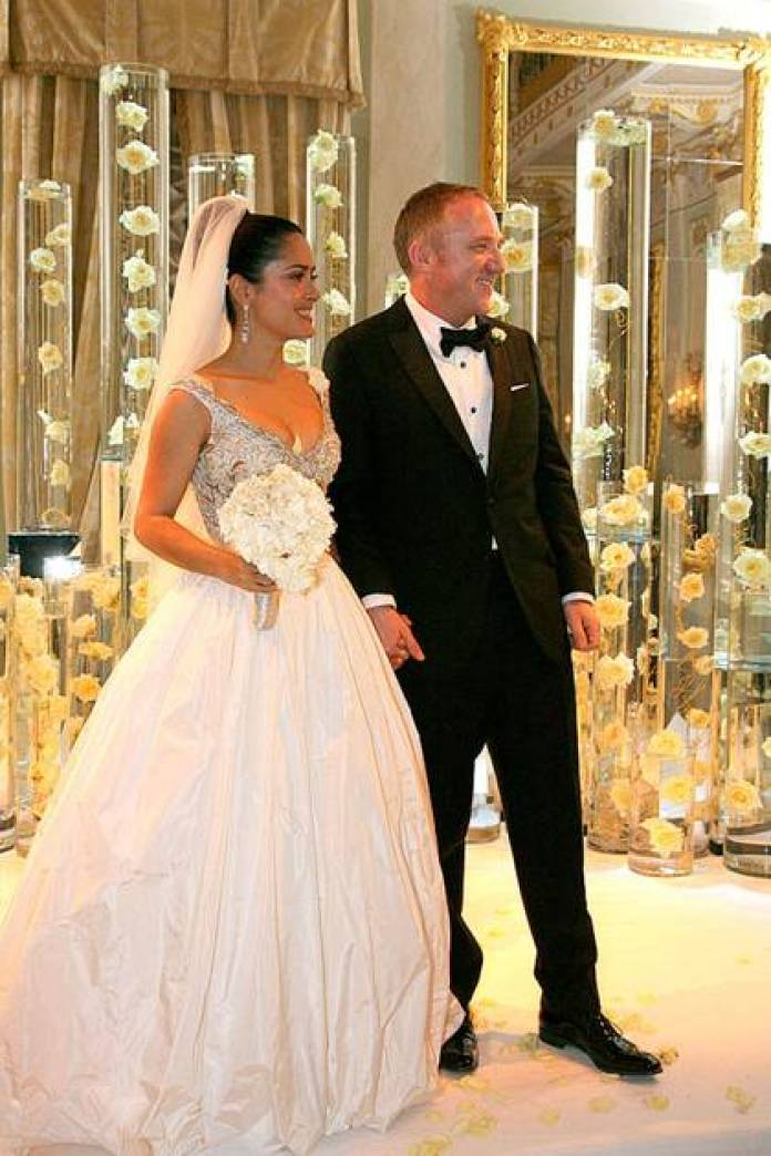 François-Henri Pinault and Salma Hayek on the day of your wedding (Picture: file)