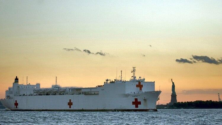 EEUU enviará en las próximas semana el buque hospital USNS Comfort para asistir a los refugiados venezolanos (U.S. Navy)