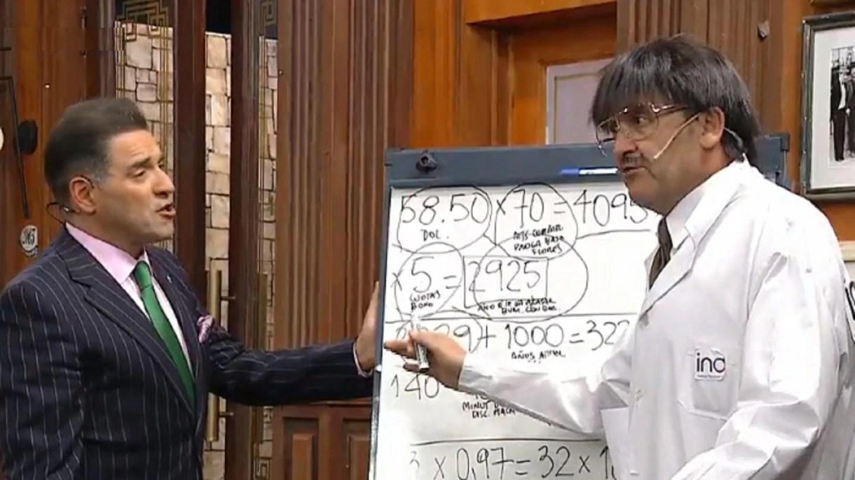 Mariano Iúdica y Dante Seco (Captura de TV/América)