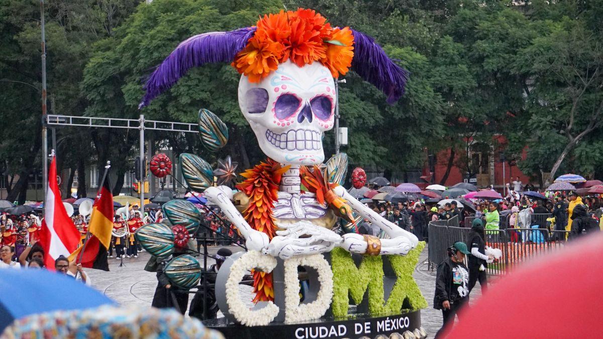 La capital mexicana también tiene su Catrina que desfila cada año
