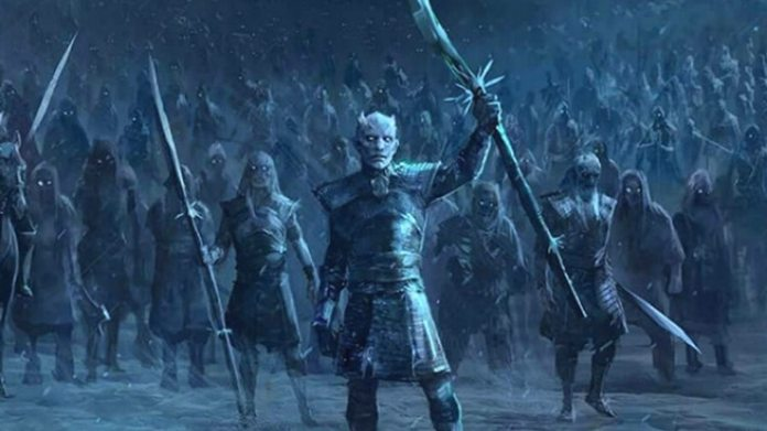 The Night King y su ejército, la gran amenaza