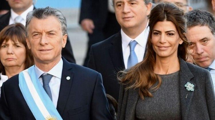 Mauricio Macri, su esposa Juliana Awada, el Gabinete y las autoridades del Congreso caminaron entre Casa Rosada y la Catedral Metropolitana
