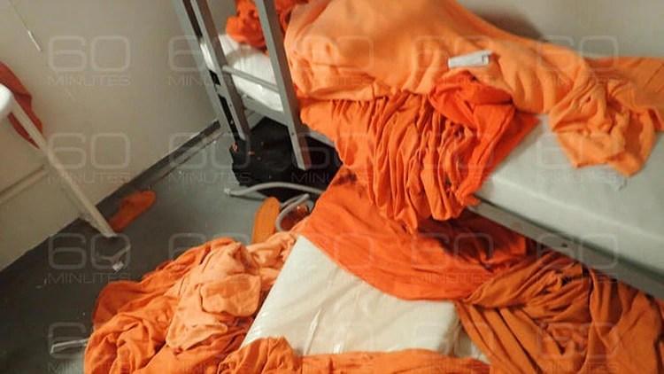 La cama donde dormía en financista (Gentileza 60 Minutes/CBS)
