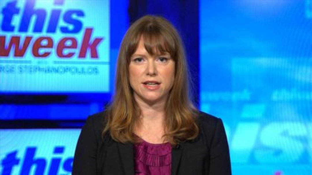 La subdirectora de campaña de Biden, Kate Bedingfield (Captura de video)