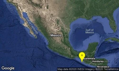 Sismológico Nacional - UNAM - Tapachula - Huixtla