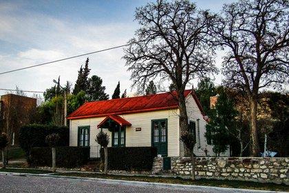 Una casa del pueblo que conserva la arquitectura tradicional de la región  (FB Dirección de Turismo de Gaiman)