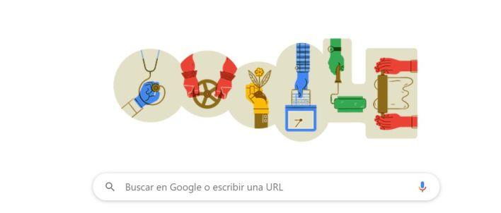 Google Doodle Día del Trabajador