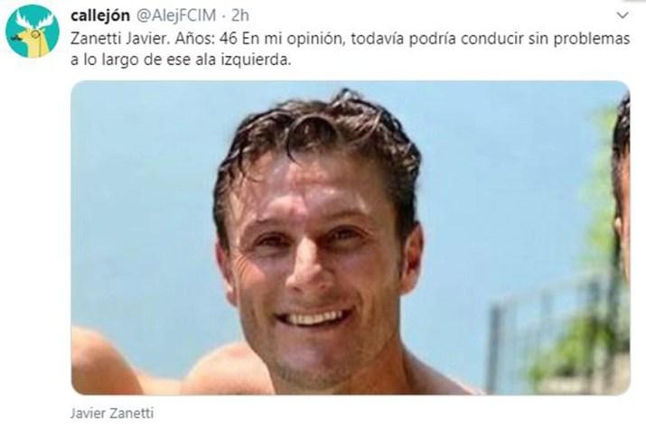 Memes Posteo Javier Zanetti