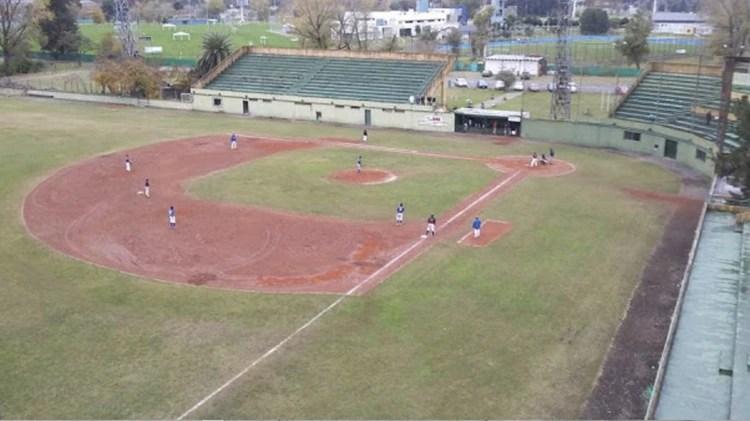 El Estadio Nacional de Béisbol, en Ezeiza