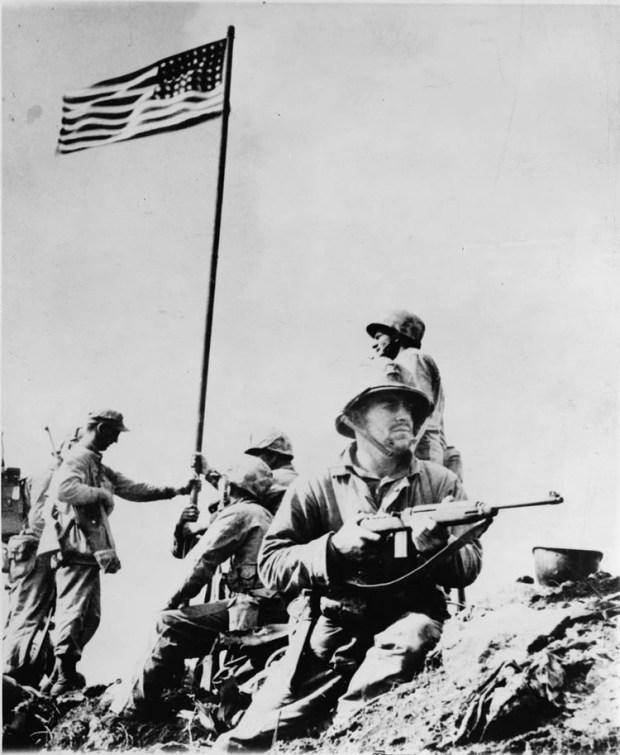 Marinos estadounidenses en la Segunda Guerra Mundial (Foto: Wikipedia)