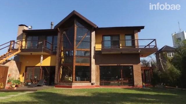 La casa de López en Tigre