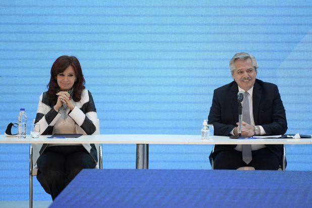Alberto Fernández y Cristina Kirchner (Foto: Reuters)