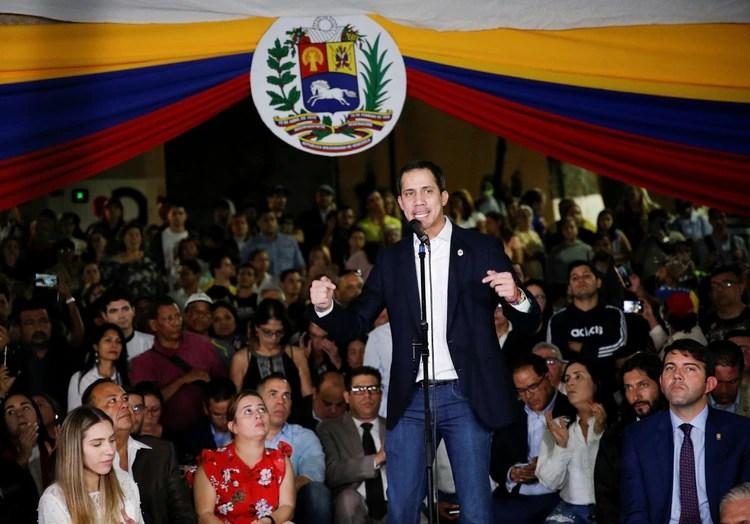 Juan Guidó es reconocido por más de 50 países como presidente legítimo de Venezuela (REUTERS/)