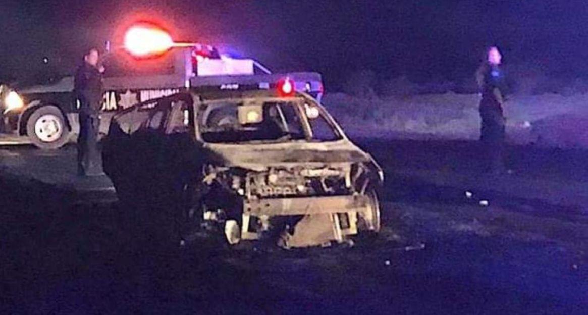 Ayer, diez personas fueron asesinadas en Ciudad Juárez, Chihuahua (Foto: Twitter/l4nd3t4)