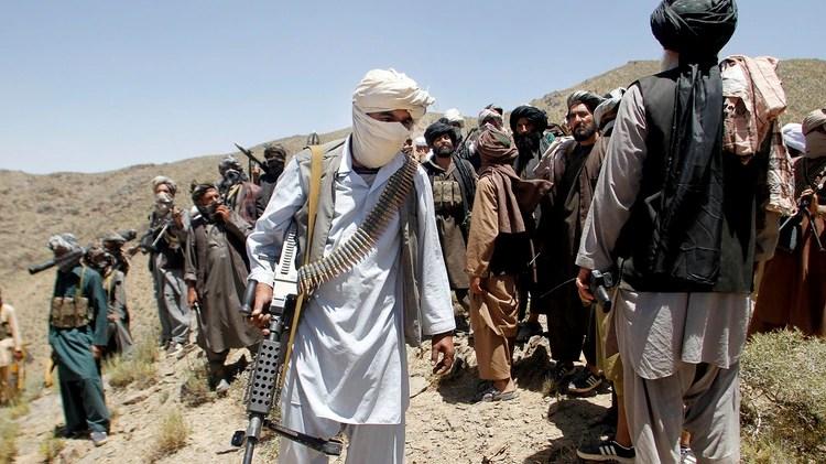 Talibanes, refugiados en las montañas de Afganistán (AFP)