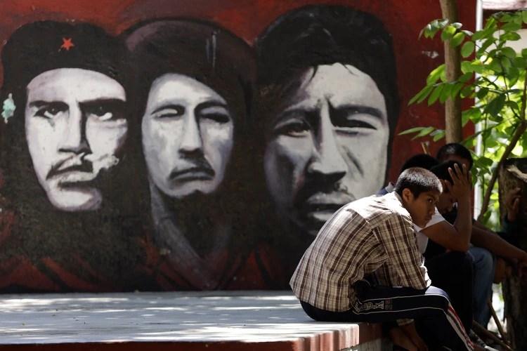 La escuela tiene un historial de lucha y resistencia. (Foto: Infobae México)