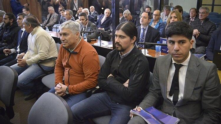 Martín Báez también está detenido junto a su padre.