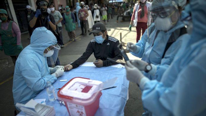 Coronavirus.- Perú supera los 360.000 casos de coronavirus al confirmar otros 4.