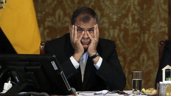 Rafael Correa (AFP)