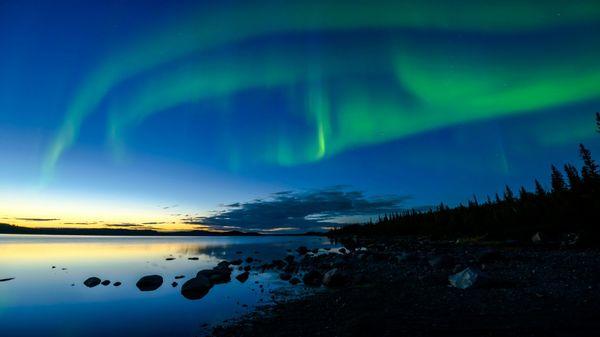 Yellowknife es la capital de los Territorios del Noroeste en Canadá, con una población de 23.634 habitantes (iStock)