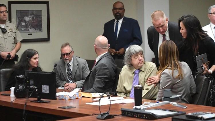 El juicio contra la pareja antes de la sentencia