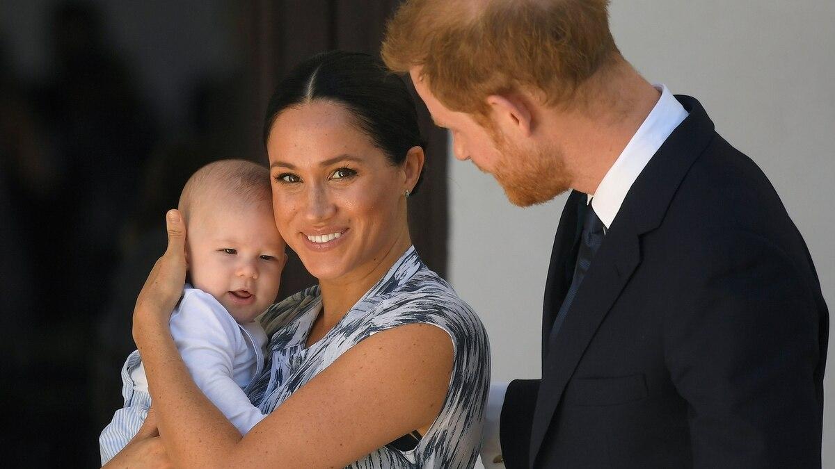 Muy cercano a su mamá y sin conocer a su abuelo, así fueron los primeros meses del bebé Archie