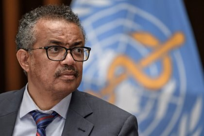 El director general de la OMS, Tedros Adhanom Ghebreyesus  REUTERS/File Photo