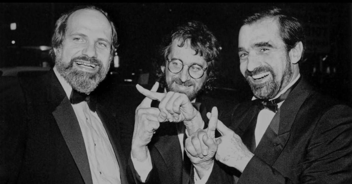 ¡Vade retro! De Palma sonríe junto a Steven Spielberg y Martin Scorsese