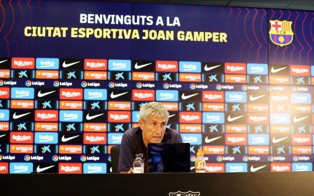 Quique Setién habló en la previa del duelo ante Alavés (FC BARCELONA)