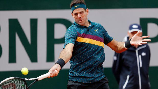 Juan Martín Del Potro jugará este sábado por la tercera ronda de Roland Garros (Reuters)