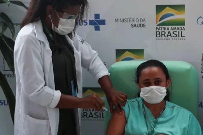 Brasil comenzó a vacunar a su población la semana pasada (REUTERS/Ricardo Moraes)