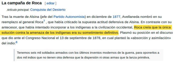 Resaltados Wikipedia - Roca