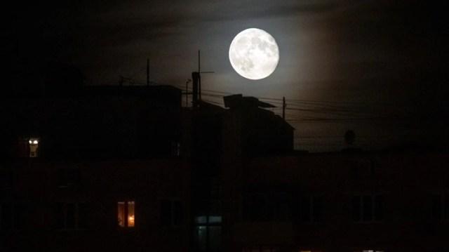 Imagen de la luna llena usada para ilustrar (REUTERS/Maxim Shemetov)