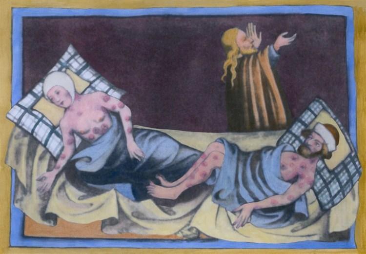 La peste negra, que diezmaba pueblos y ciudades enteras en la Edad Media (Foto: Shutterstock)