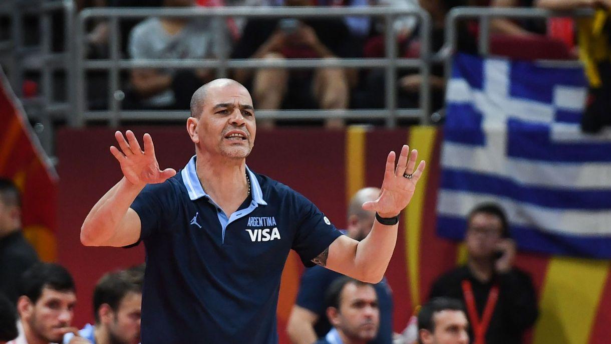 Sergio Hernández logró formar un equipo que llegó hasta la final de la Copa del Mundo (AFP)