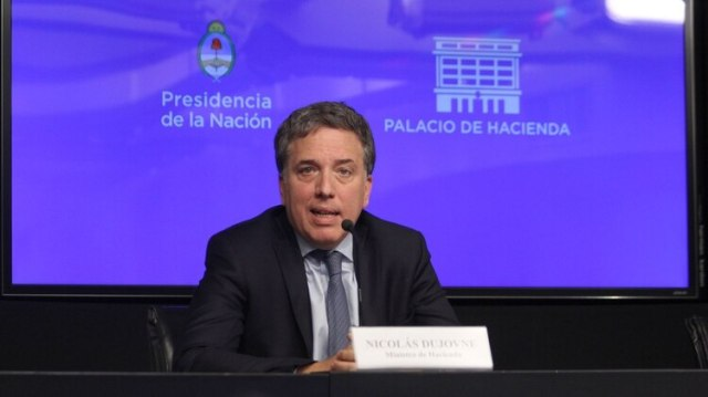 Nicolás Dujovne, ministro de Hacienda (Matias Baglietto)