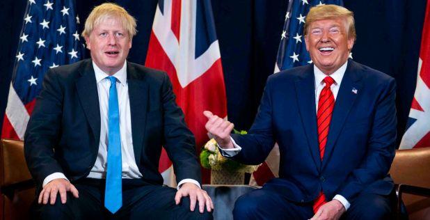 El pensador francés critica a Boris Johnson y Donald Trump