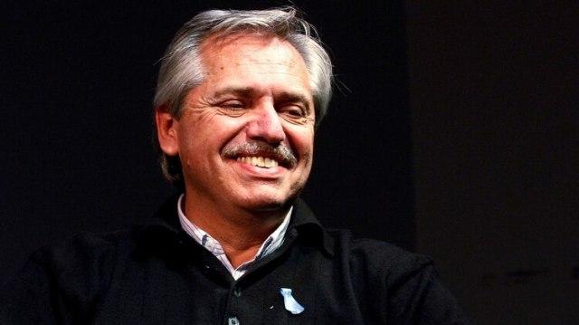 El precandidato presidencial Alberto Fernandez (REUTERS)