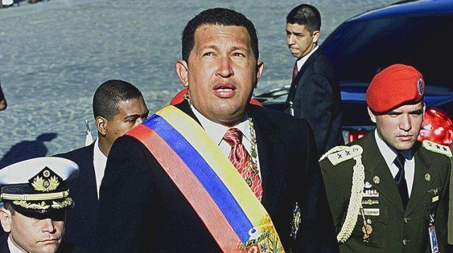 Elfallecido presidente venezolano, Hugo Chavez, en 2003(AFP)
