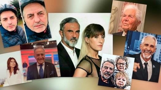 """Los famosos se sumaron al nuevo desafío viral: sus fotos como """"ancianos"""""""